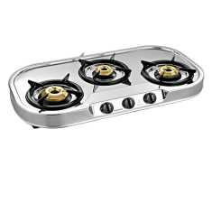 Sunflame Spectra 3 Burner Manual Gas Stove