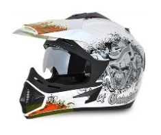 Vega Off Road Gangster Motorbike Helmet