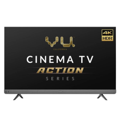 Vu Cinema TV Action Series 55LX 55 Inch 4K Ultra HD Smart Android LED Television