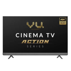 Vu Cinema TV Action Series 65LX 65 Inch 4K Ultra HD Smart Android LED Television