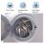 AmazonBasics AB7FAFL009 7 Kg Fully Automatic Front Loading Washing Machine