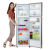 Haier HEF 27TSS 276 Litre Frost Free Double Door Refrigerator