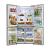 LG GR M24FWAHL Side By Side Door 725 Litres Frost Free Refrigerator