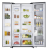 Samsung RH62K60177P Side by Side 674 Litres Frost Free Refrigerator