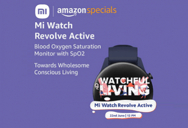 Mi Watch Revolve Active Will Be Unveiled On June 22; Features Revealed On Amazon IN