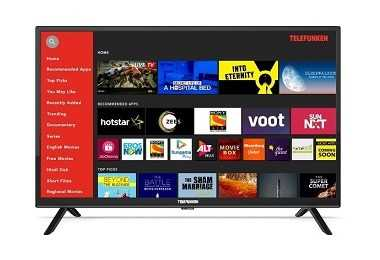 Telefunken's HD-Ready Smart TV Of Size 32-Inch Launched At ?9,990